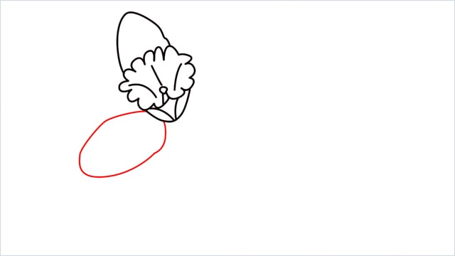 how to draw a easy daffodil step (7)