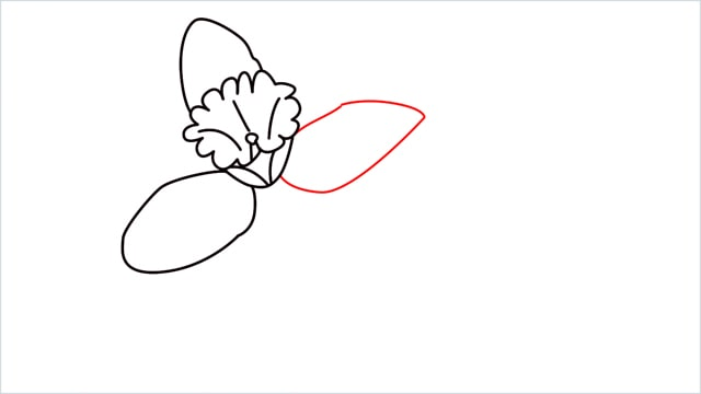 how to draw a easy daffodil step (8)