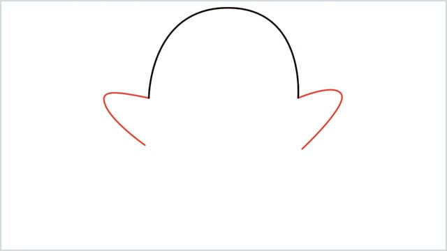 how to draw a ghost step (2)