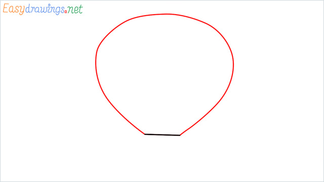 how to draw a hot air balloon easy step (2)