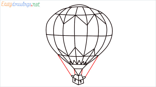 how to draw a hot air balloon easy step (9)