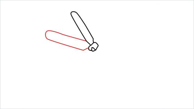 how to draw a jasmine flower step (4)