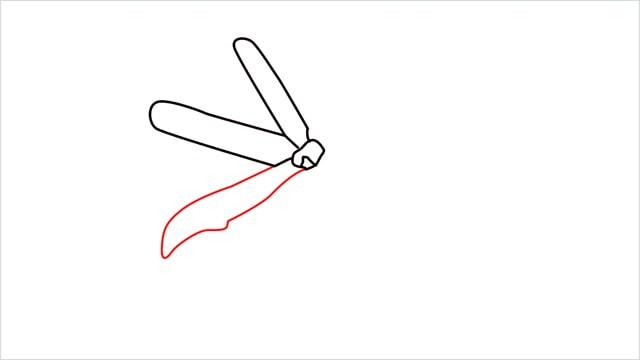 how to draw a jasmine flower step (5)