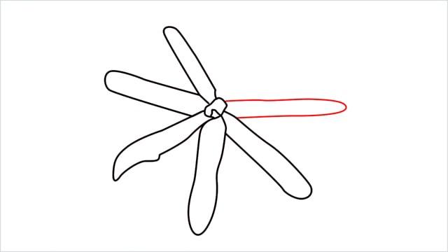 how to draw a jasmine flower step (8)