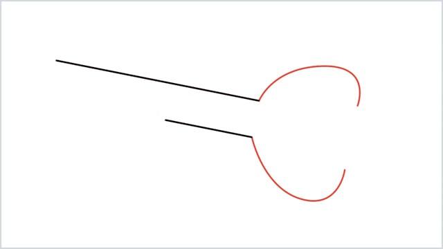 how to draw a key step (2)