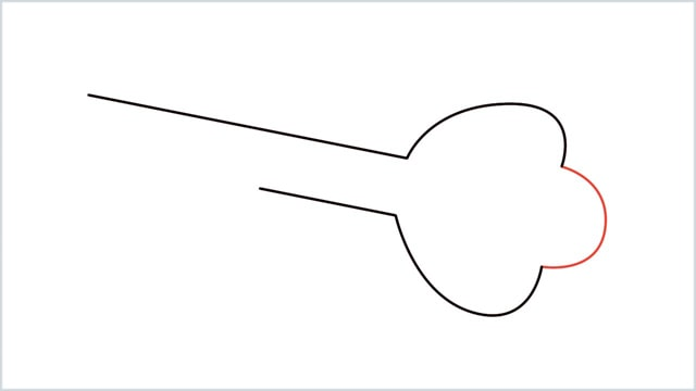 how to draw a key step (3)