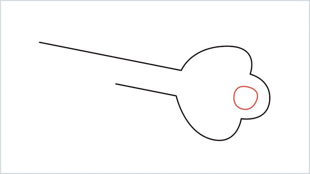 how to draw a key step (4)