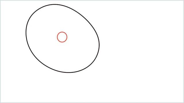 how to draw a lemon step (2)