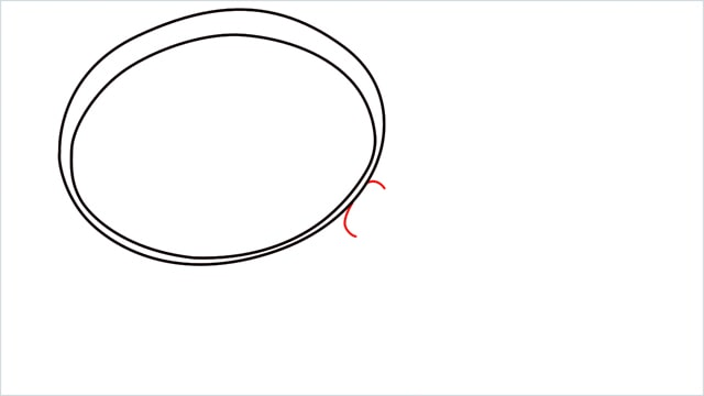 how to draw a magnifying glass step (3)