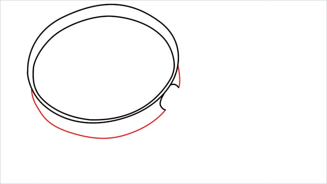 how to draw a magnifying glass step (4)