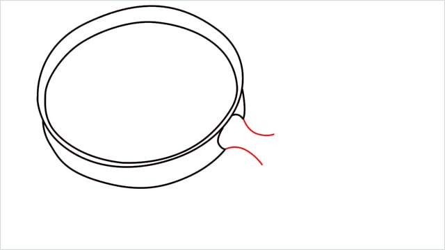 how to draw a magnifying glass step (5)