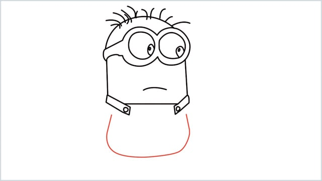 how to draw a minion step (10)