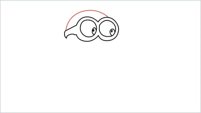 how to draw a minion step (5)