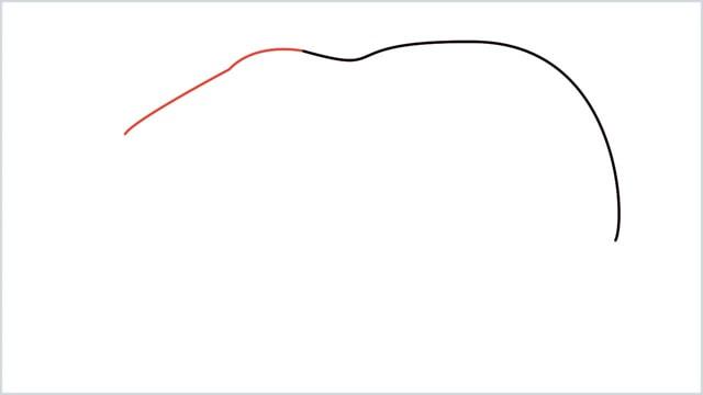 how to draw a polar bear step (2)