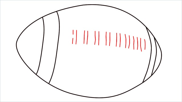 how to draw a rugby ball step (4)