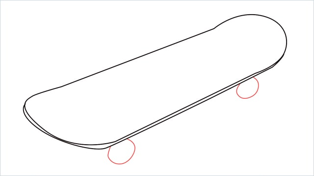 how to draw a skateboard step (4)