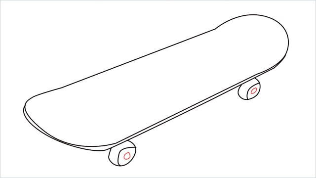 how to draw a skateboard step (6)