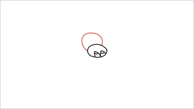how to draw a spider step (4)