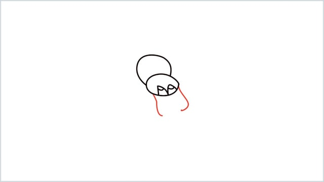 how to draw a spider step (5)