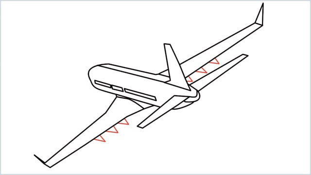 how to draw an airplane easy step (13)