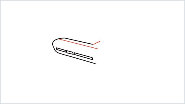 how to draw an airplane easy step (3)