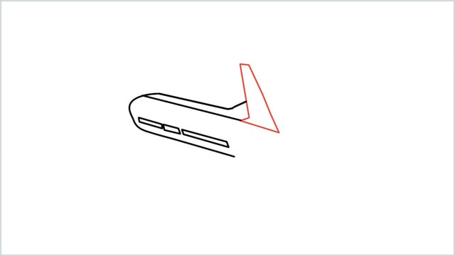 how to draw an airplane easy step (4)
