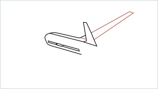 how to draw an airplane easy step (5)