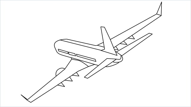 How To Draw An Airplane Step By Step For Beginners Easy Drawings