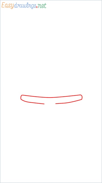 how to draw doraemon face example 2 step (1)