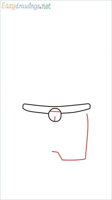 how to draw doraemon face example 2 step (3)