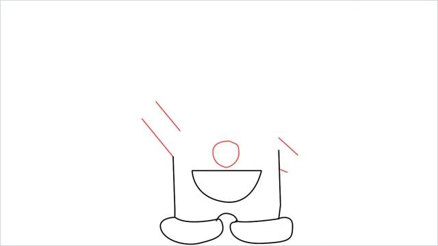 how to draw doraemon step (4)