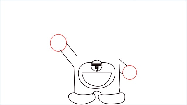 how to draw doraemon step (6)