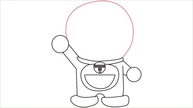 how to draw doraemon step (8)