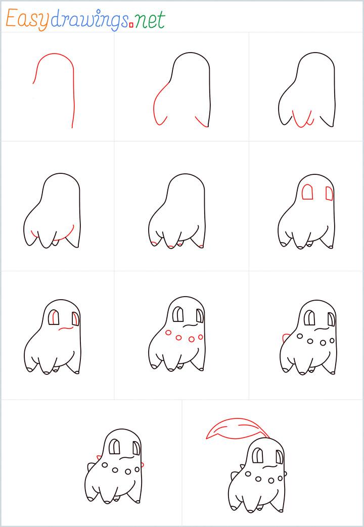 Chikorita Drawing Overview