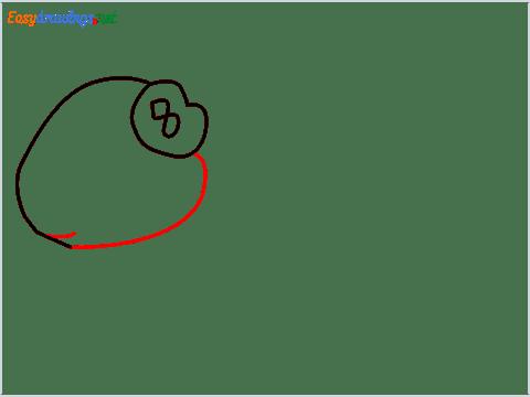 How To Draw A Cute Guinea Pig Step (4)