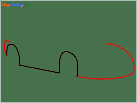 How To Draw A Lamborghini Step (2)