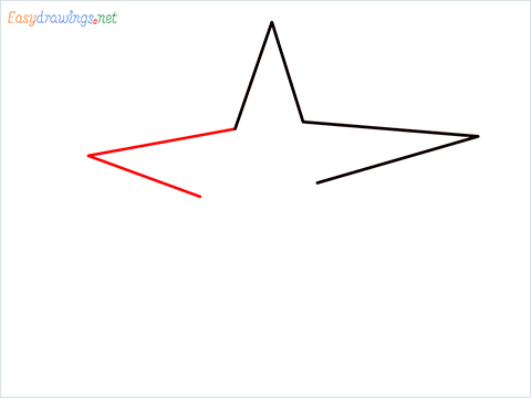 How To Draw A Star Easy Step (3)