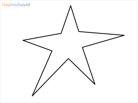 How To Draw A Star Easy Step by Step for Beginners