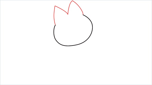 How to draw Munchlax step (2)
