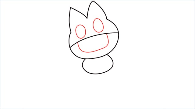 How to draw Munchlax step (4)