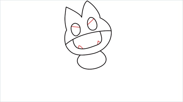 How to draw Munchlax step (5)