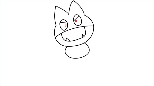 How to draw Munchlax step (6)