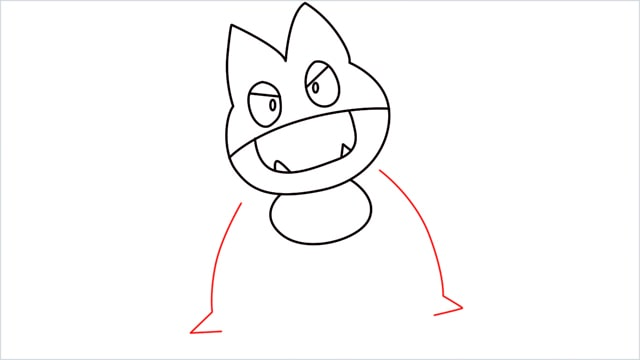 How to draw Munchlax step (7)