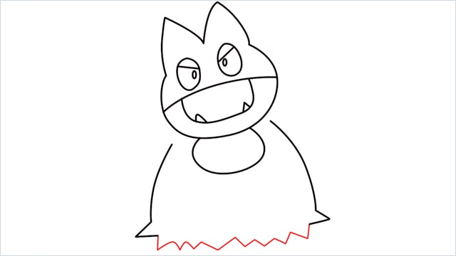 How to draw Munchlax step (8)