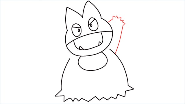 How to draw Munchlax step (9)