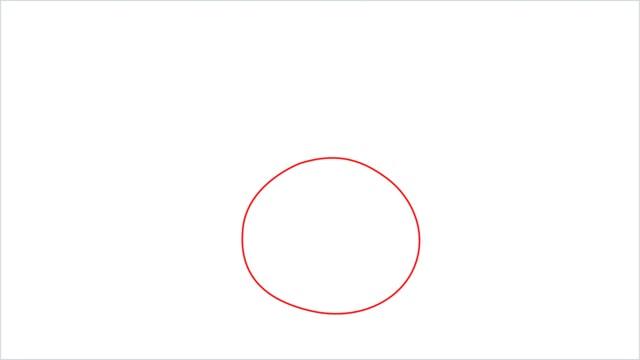 How to draw Oddish step (1)