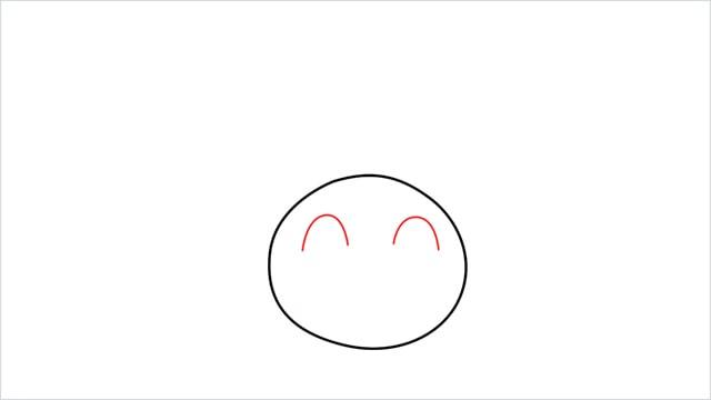 How to draw Oddish step (2)