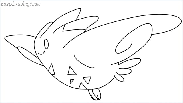 How to draw Togekiss step by step
