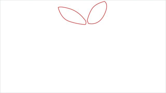 How to draw Turtwig step (1)