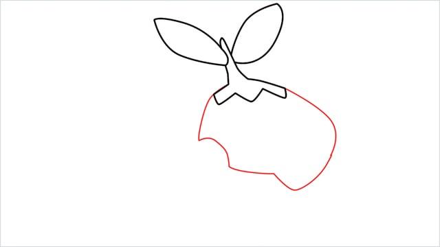 How to draw Turtwig step (3)